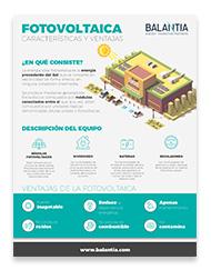 Infografía fotovoltaica
